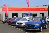 Richard Hardie's new MG Motor UK franchised car dealership in Ashington, Northumberland