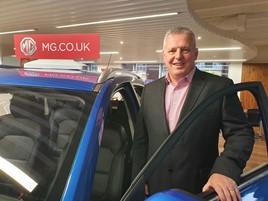 MG Motor UK's new national fleet sales manager, Geraint Isaac