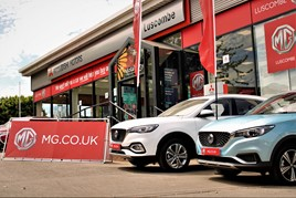 Luscombe Motors' new MG Motor UK Leeds dealership