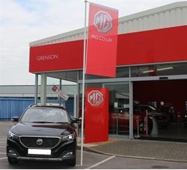 Grenson Motor Co. open new MG franchise
