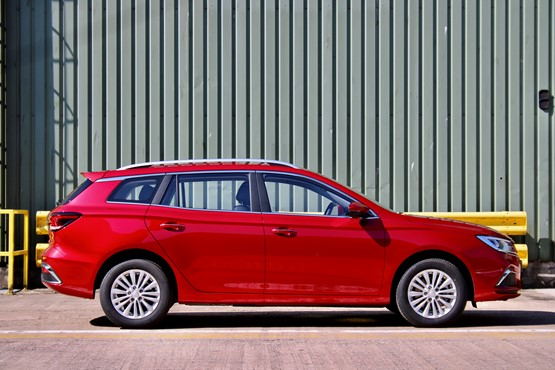 MG Motor UK's new MG5 EV estate car
