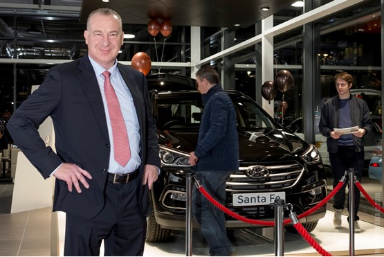 Richmond Motor Group founder and managing director, Michael Nobes