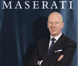 Mike Biscoe, general manager for Maserati Great Britain