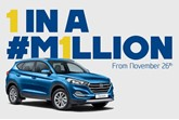 Hyundai to mark one millionth UK car with a car give away