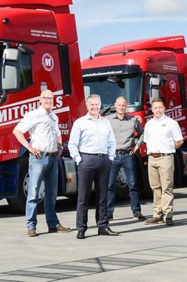 Paul Pearson (RHCV), Andrew Mitchell (Mitchells of Mansfield), Richard Montgomery (Mitchells of Mansfield), Garry Nelson of (RHCV).