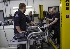 Mitsubishi Motors in the UK's IMI-accredited EV training