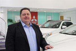 Trevor Schindler, dealer support manager at Mitsubishi Motors of the UK