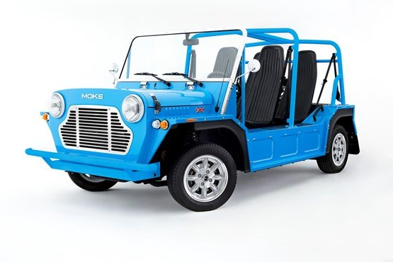 The relaunched Moke, which will be sold by Hendy Group, in Poole