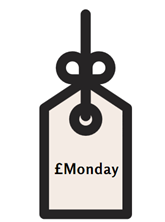 Monday price tag