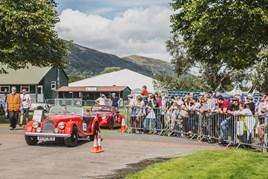 Morgan Motor Company's Run for the Hills event