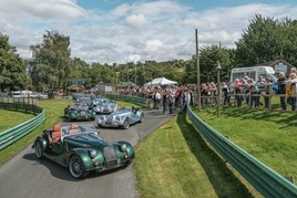Morgan Plus Six at 'Thrill On The Hill'