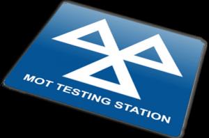 MoT test station logo