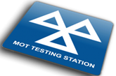 MoT test station logo