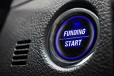 motor finance and funding stock image