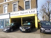 Motor Spot's premises on Uxbridge Road, London