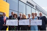 Motorline donates £30,000 to Kent hospices