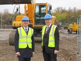 Motorline operations directors Paul Stapylton (left) and Tony Jones (right) at the new Motorline Dartford site