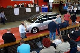 A BCA Motorline auction at Paddock Wood
