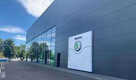 Motorline's new Skoda dealership in Gillingham