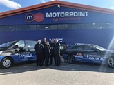 Motorpoint's Run For All support vehicles