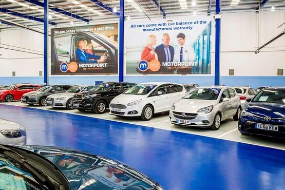 Motorpoint Sheffield interior