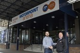 Phil Sheeran, general manager of Motorpoint Arena Cardiff, and Russell Louth, Motorpoint Newport general manager, at Motorpoint Arena Cardiff