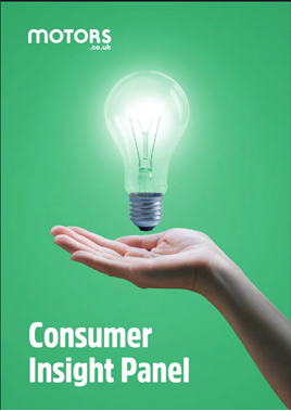 The Motors.co.uk Consumer Insight Panel report cover