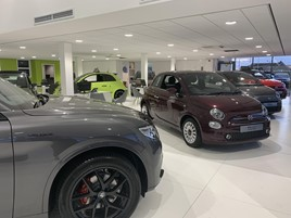 Inside Motorvogue's new FCA Group multi-brand showroom in Norwich