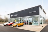 Motorvogue's new Renault and Dacia dealership on the Interchange Retail Park, Kempston