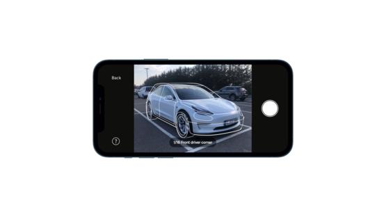 Motorway's vehicle profiling app in action