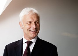Volkswagen Group chief executive Matthias Müller