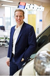 Nathan Coe, Auto Trader's chief executive officer