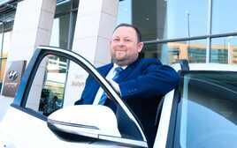 Neil Bianchi, new general manager at Bristol Street Motors Silverlink Hyundai