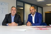 Aston Barclay chief executive Neil Hodson (left) and Tom Marley chief executive of The Car Buying Group