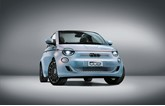 The new zero-emission Fiat 500 EV