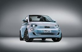 The new zero-emission Fiat 500 EV