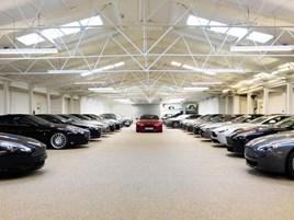 McGurk Performance Cars's new showroom