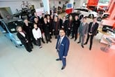 Chris Green and his team at Vertu Honda Lincoln