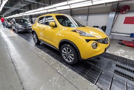 Nissan Juke production
