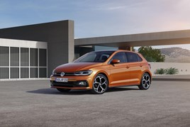 The sixth generation Volkswagen Polo
