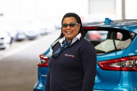 Venessa Chin, customer service manager at Motorpoint Peterborough