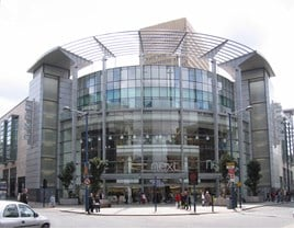 Rockar and Ford on the high street: Next's store at the Arndale Centre in Manchester city centre