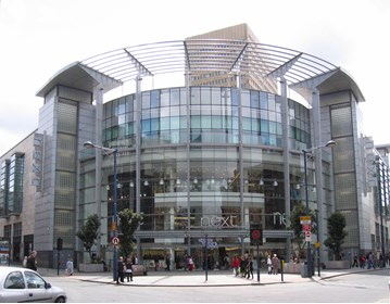 Rockar on the high street: Next's store at the Arndale Centre in Manchester city centre