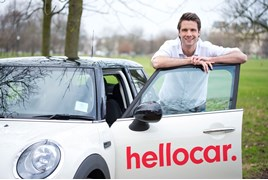 Hellocar founder Nic Carnell