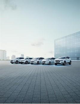 Nissan model range line-up