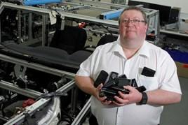 Nissan engineer Patrick Keenan is 'the man with 40 phones'