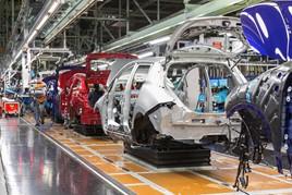 Nissan Leaf production at Sunderland