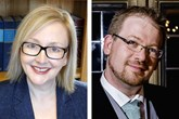 Nina Bowkis, Lawgistics; Paul Carroll, MILS