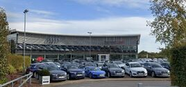 Group 1 Automotive's newly-acquired Norwich Audi car dealership