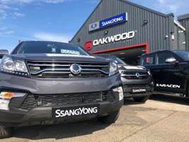 Oakwood Specialist Cars has opened a new SsangYong Motor UK franchise in Whitley Bay